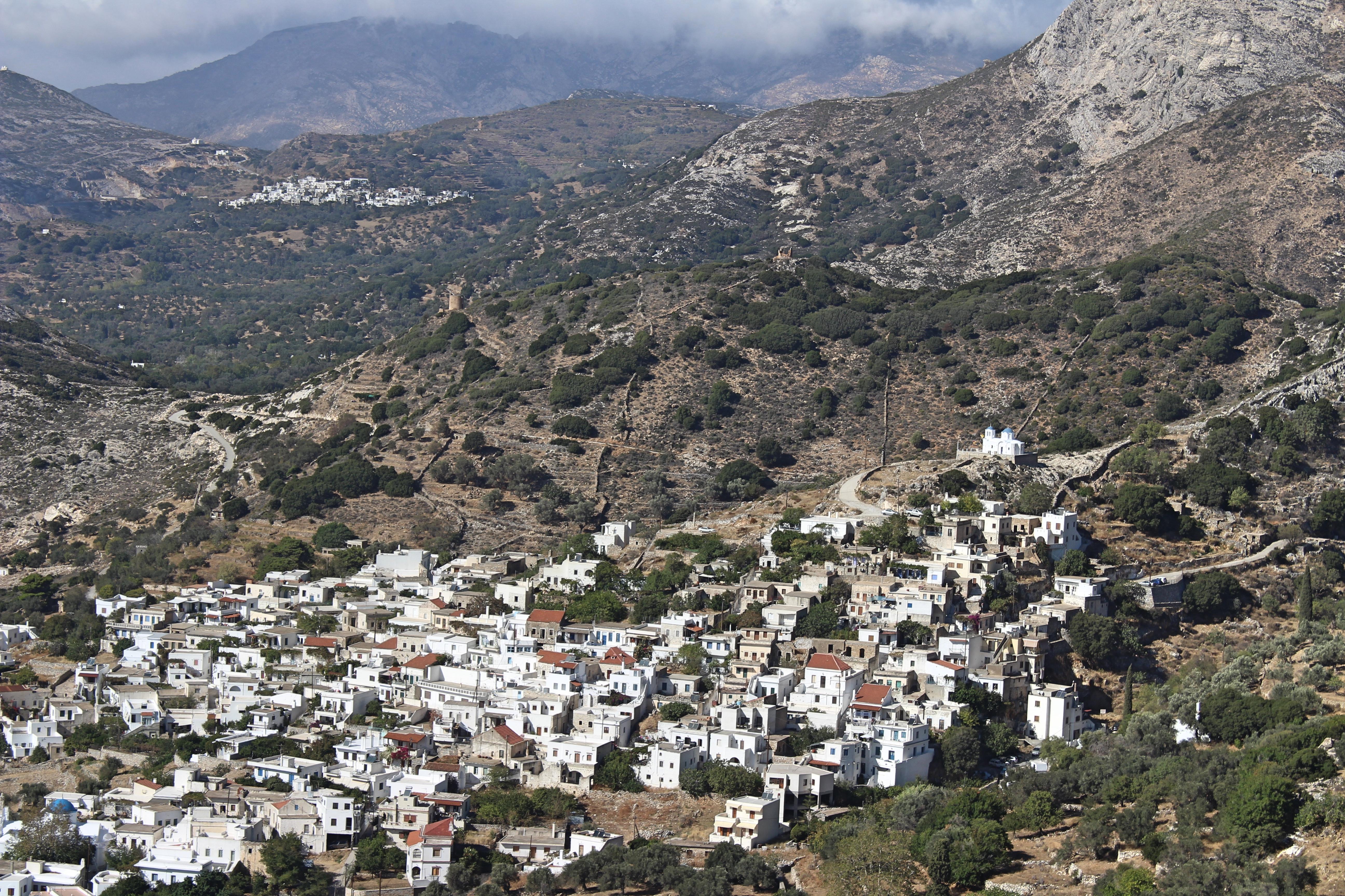 Naxos Mountain Towns
